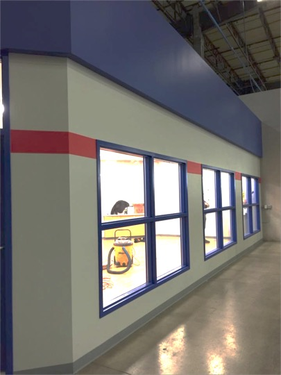Interior Factory Painting - Southeast Michigan