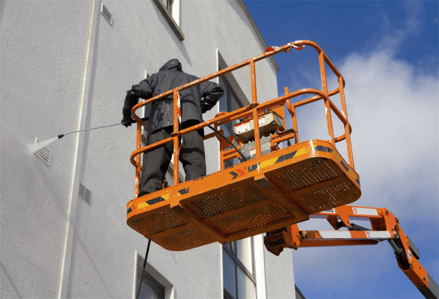 Commercial Power Washing Contractor