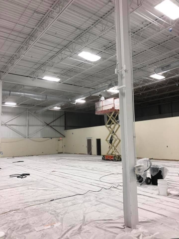 Commercial Painting Contractors - Facility Project