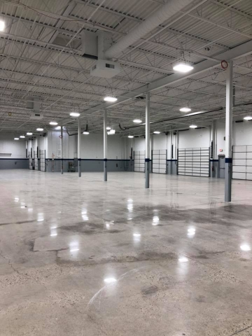 Commercial Painting Contractors - Factory Project