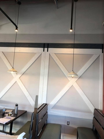 Commercial Painting Contractors - Restaurant Project