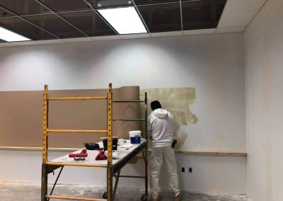 TAC Wall Installation Conference Room