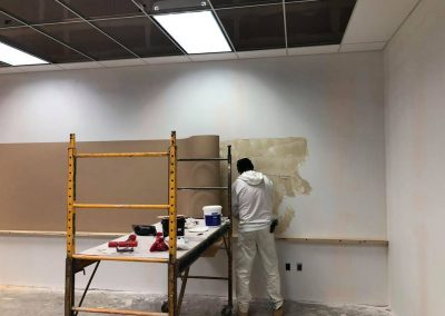 TD Painting and Wallcovering at Work