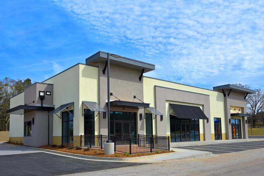 Refresh your Commercial Building with an Exterior Re-Paint